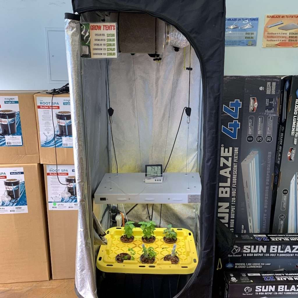 Setting Up a Grow Tent | Root Grow Bloom