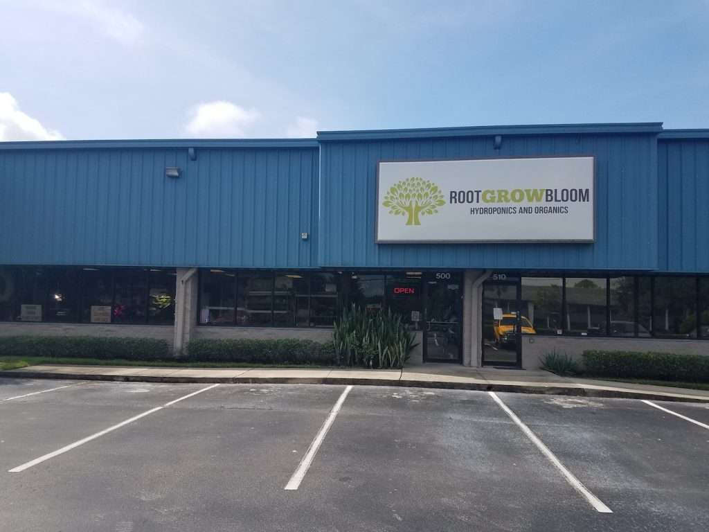 Root Grow Bloom Store Front Orlando Florida