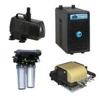 Pumps, Chillers & Filters